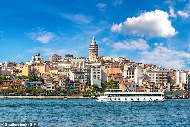 A magnitude 5.8 earthquake which struck near Istanbul in Turkey (pictured) in the summer of 2016 lasted for fifty days, according to a new study. The tectonic phenomena, known as a