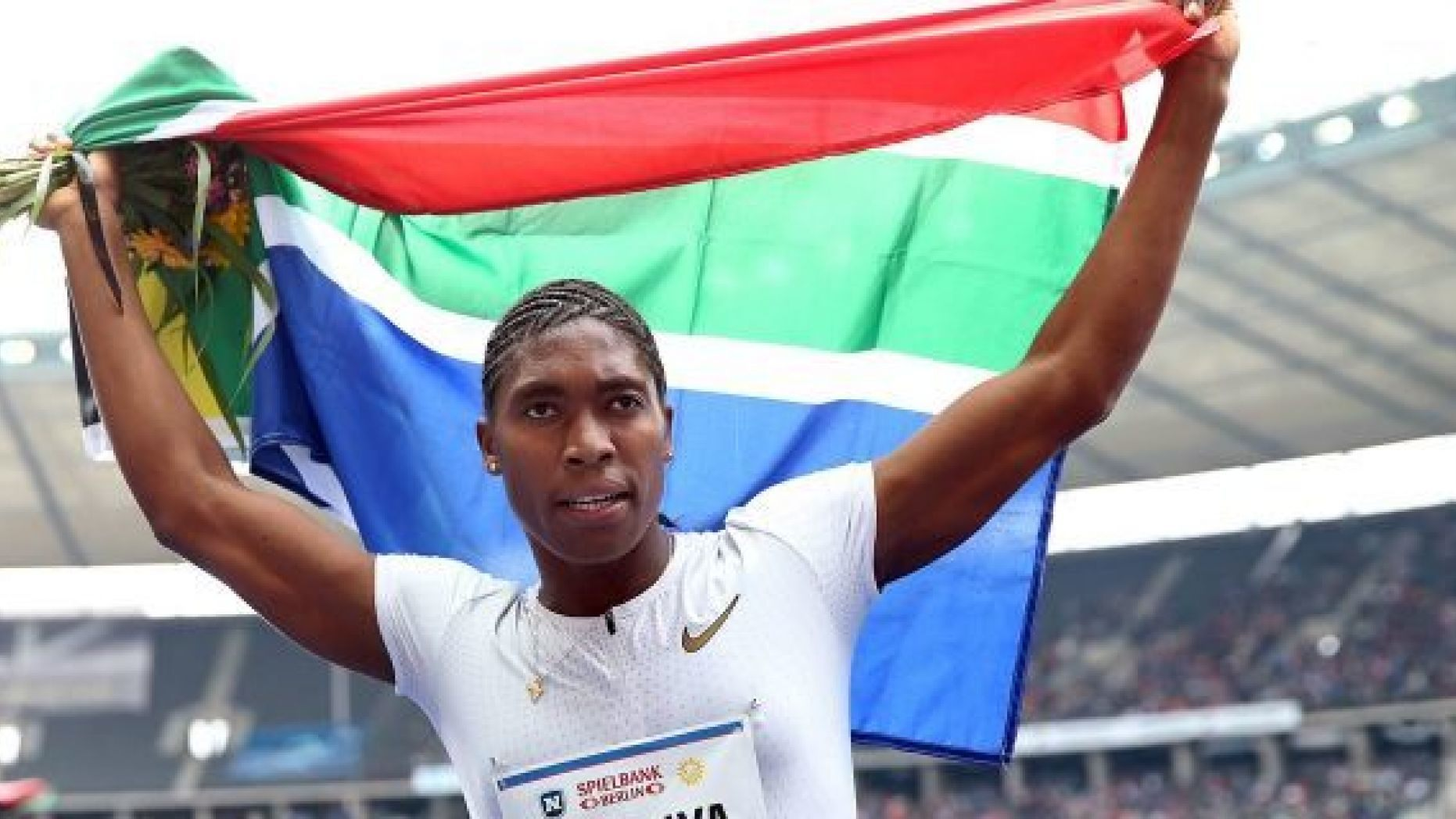 """The International Association of Athletics Federations has denied that a new ruling will label South African Olympic medalist Caster Semenya, and other hyperandrogenic athletes, as """"biologically male"""""""