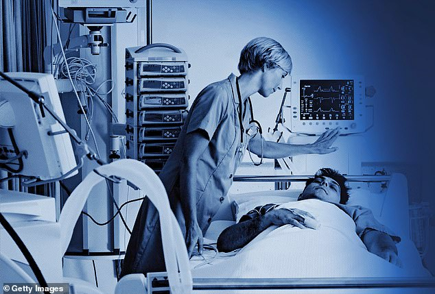 After ten years as an intensive care unit (ICU) nurse, looking after the hospital¿s sickest patients, I¿ve almost become desensitised to it (file photo)