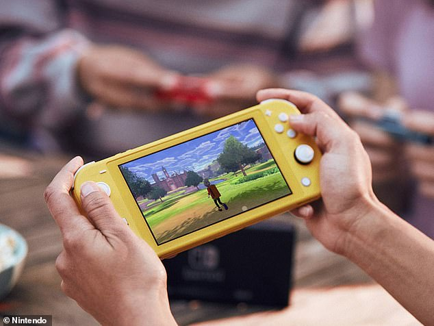 Nintendo is shrinking down its wildly popular Switch console to launch a less expensive version designed for on-the-go play