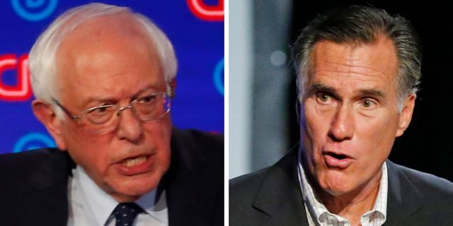 """The morning after <a data-cke-saved-href=""""https://www.foxnews.com/politics/bernie-sanders-tim-ryan-dem-debate-2020"""" href=""""https://www.foxnews.com/politics/bernie-sanders-tim-ryan-dem-debate-2020"""" target=""""_blank"""">Sen. BernieSanders</a>, I-Vt., took the stage in the first of two back-to-back Democratic presidential nomination debates in Detroit,<a data-cke-saved-href=""""https://www.foxnews.com/politics/romney-says-he-may-decline-to-endorse-trump-again"""" href=""""https://www.foxnews.com/politics/romney-says-he-may-decline-to-endorse-trump-again"""" target=""""_blank"""">Utah Sen.Mitt Romney</a> offered his thoughts on why his colleague from <a data-cke-saved-href=""""https://www.foxnews.com/category/us/us-regions/northeast/vermont"""" href=""""https://www.foxnews.com/category/us/us-regions/northeast/vermont"""" target=""""_blank"""">Vermont</a> is """"so angry,"""" sparking an exchange of insults on Wednesday."""