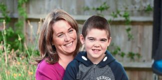 Alfie Dingley, pictured here with his mother Hannah, left, used to suffer 75 seizures a day until he was prescribed an oil-based cannabis tincture overseas. His case saw the then Home Secretary Sajid Javid change the law to allow the use of cannabis oil by the NHS