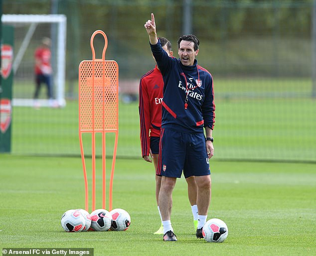 Unai Emery is preparing Arsenal for the Premier League clash at home to Burnley on Saturday