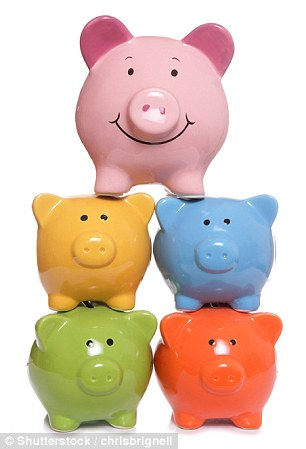 Every little helps: Savings rates might be low but at least an Isa means interest is tax-free