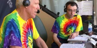 Bill Walton does commentary on NBC Sports Chicago for the Chicago White Sox