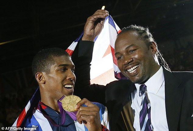 Anthony Joshua has called former undisputed heavyweight champion Lennox Lewis