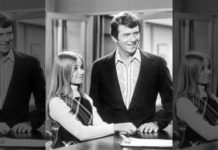 """Getting Davy Jones"" - Season Three - 12/10/71, As the president of the Davy Jones fan club, Marcia (Maureen McCormick) promised to deliver the singer to her school but had no way of getting in touch with him. Robert Reed (Mike) also starred., (Photo by Walt Disney Television via Getty Images Photo Archives/Walt Disney Television via Getty Images)"