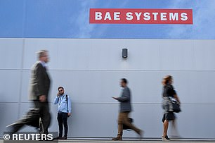British defence giant BAE Systems revealed a 36% rise in profits and hiked the dividend