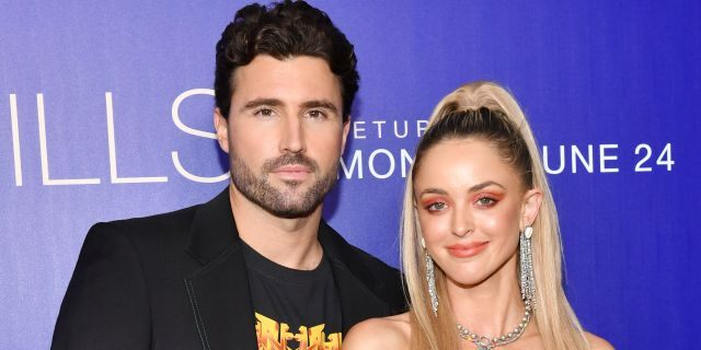 Brody Jenner and Kaitlynn Carter Jenner attend the premiere of MTV