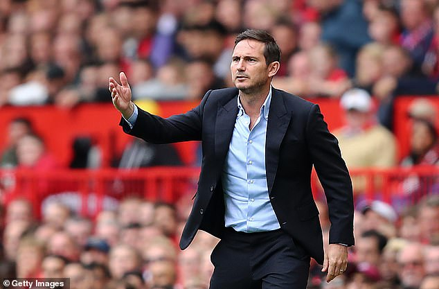 Frank Lampard had challenged his Chelsea players to