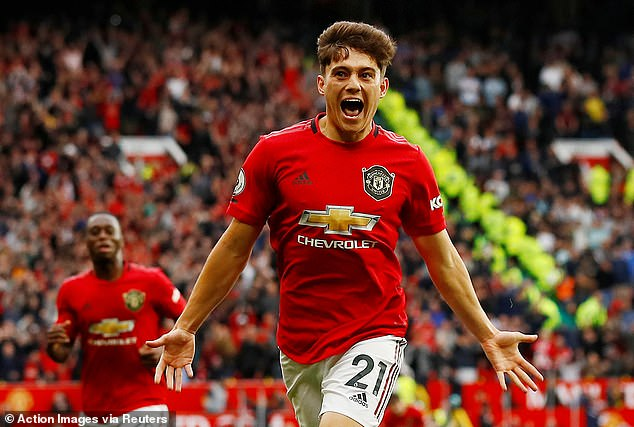 Daniel James achieved his dream by scoring on his Manchester United debut