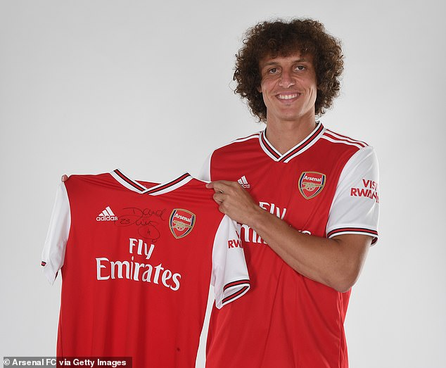 David Luiz has joined Arsenal from bitter rivals Chelsea in an £7million transfer