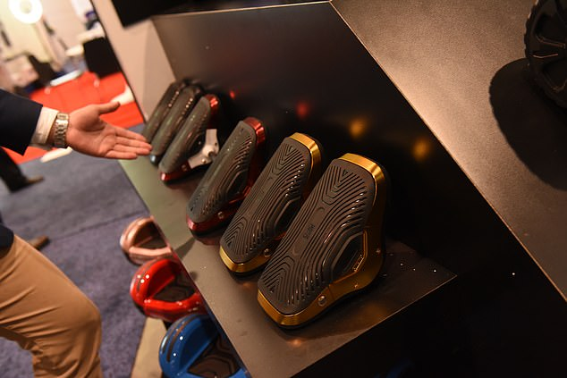 At the Consumer Electronics Show in Las Vegas, Jetson unveiled its