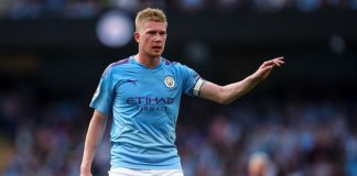 Kevin De Bruyne assisted both of Manchester City