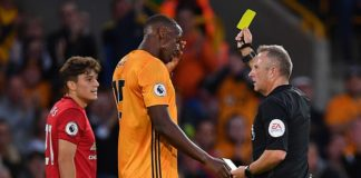 Daniel James earned a yellow card for simulation in Manchester United