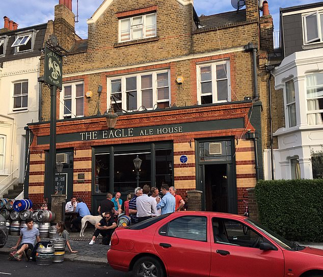 David Law and his business partner Simon Clarke run The Eagle Ale House in Clapham, London, and have campaigned for years to bring an end to the tie