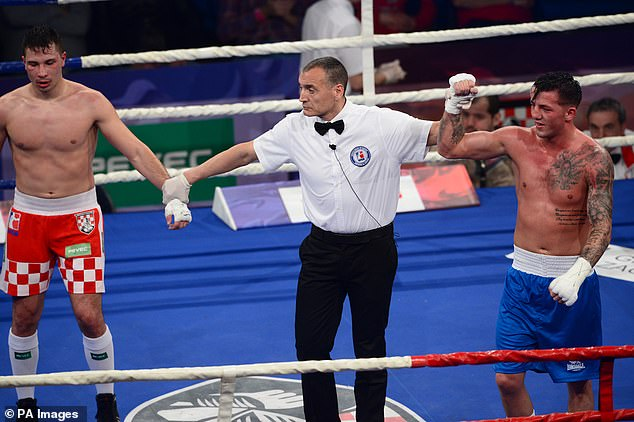 Medal hope: Jordan, in blue shorts, reveals life as a boxer ahead of Tokyo 2020