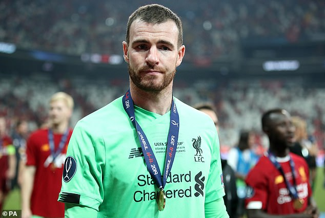 Andy Lonergan is set for his Liverpool bow in the Premier League against Southampton