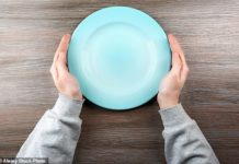 More than a million Britons are at risk, because they aren't having enough to eat (stock image)