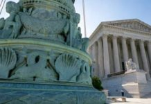 The Supreme Court is seen in Washington. Abortion rights is one issue for the Supreme Court to tackle.