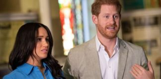 Meghan Markle, Duchess of Sussex and Prince Harry, Duke of Sussex visit District 6 Museum on Sep. 23, 2019 in Cape Town, South Africa. The pair are reportedly considering a move to Africa after a bitter battle with public life in the U.K.