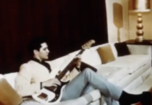 """Elvis' ex-wife Priscilla Presley, his then girlfriend during the time The Beatles visited, recalled how the day started off with a """"awkward atmosphere"""""""