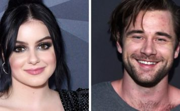 Actress Ariel Winter, left, and actor Luke Benward were spotted packing on PDA on Dec. 11 in West Hollywood, Calif.