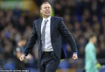 Duncan Ferguson showed Everton owner Farhad Moshiri how Everton should be