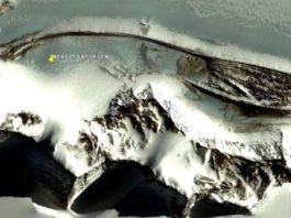 A mystery wall has allegedly been found in Antarctica on Google Earth
