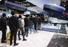 A long line stretched across the show floor at CES this week as attendees eagerly waited for their chance to sit inside the Bell Nexus 4EX air taxi. This is the firm