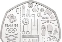 The Tokyo 2020 50p, which will not be available to purchase individually nor initially released into circulation. Instead those after it will have to buy a 5-coin set for £55
