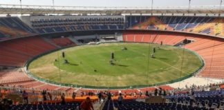 Sardar Patel Stadium, newly renovated to hold over 100,000 people, will host President Trump and Prime Minister Modi on Monday.