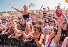 On hold: Glastonbury fans who paid a £50 deposit can roll it over to next year's festival