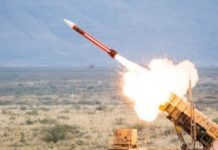 Patriot missile file photo. (Raytheon Company)
