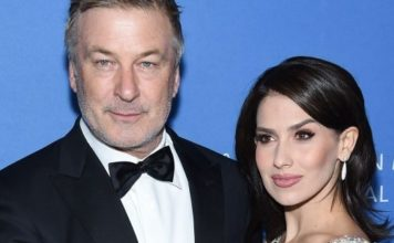 Alec Baldwin and Hilaria Baldwin attend the American Museum Of Natural History 2019 Gala at the American Museum of Natural History on November 21, 2019 in New York City.