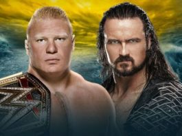 Brock Lesnar and Drew McIntyre will fight at WrestleMania