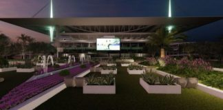 Hard Rock Stadium will have outdoor gatherings. (Courtesy Miami Dolphins)