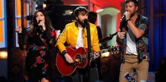 Lady Antebellum performs at the53rd Academy of Country Music Awards in 2018.