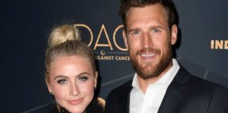 Julianne Hough and Brooks Laich, seen here in 2019, apparently have stayed on good terms. (Frazer Harrison/Getty Images, File)