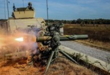 U.S. Army Soldiers from Delta Company, 3rd Battalion, 187th Infantry Regiment, 3rd Brigade Combat Team, 101st Airborne Division (Air Assault), fire the TOW missile system during a live fire at Fort Campbell, Ky. Oct. 24, 2018 - file photo.