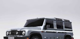 Grenadier guns for the void left by Land Rover: This is the first model to be launched by Sir Jim Ratcliffe