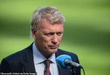 West Ham boss David Moyes is reportedly interested in Manchester duo should they stay up