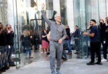 Apple chief executive Tim Cook has moved into billionaire status.