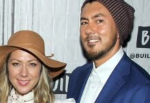 Colbie Caillat and Justin Young. (Photo by Jim Spellman/Getty Images)