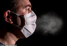Scientists in the UK found that both small and large droplets from people coughing or just breathing can travel far distances and unpredictable directions, suggesting the airborne danger of coronavirus - but they invented a device to