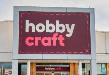 Demand: Sales of its painting and craft supplies rocketed despite its 100 stores remaining shut