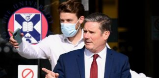 Sir Keir Starmer visits Edinburgh University