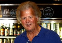 Glass full: Wetherspoons chief Tim Martin has had his pay topped up
