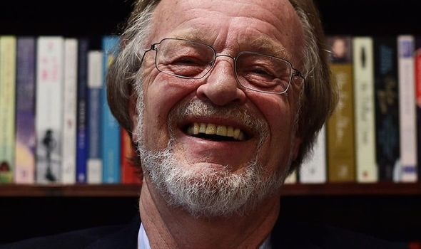 Best-selling author Bernard Cornwell