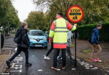 The 21st century Lollipop Man: Renault has created a lollipop that can measure the air pollution levels and then display how dangerous they are on a digital panel for parents to see